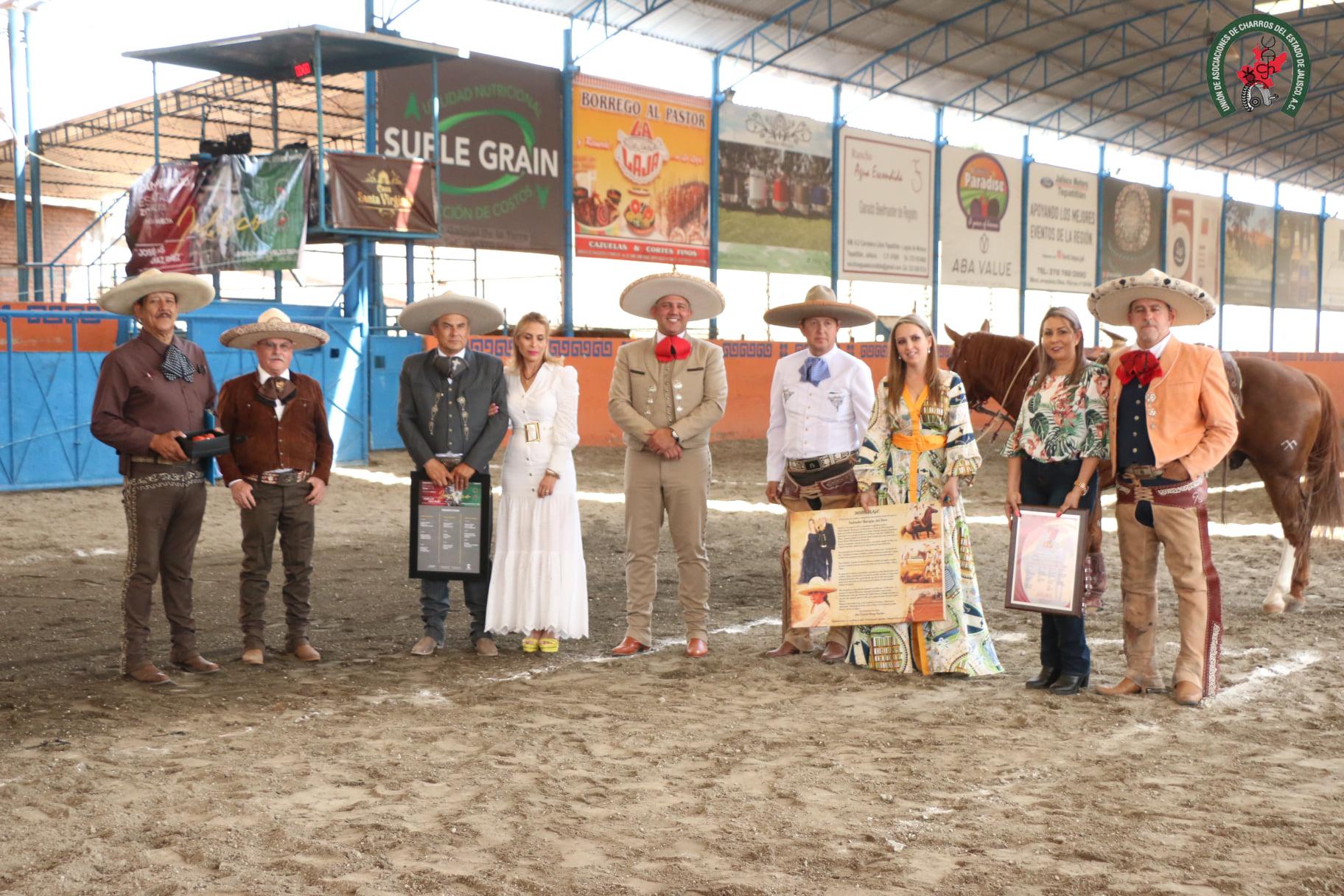 José Luis Díaz Pérez, homenajeado por su historial deportivo y su labor por la Charrería del estado de Jalisco