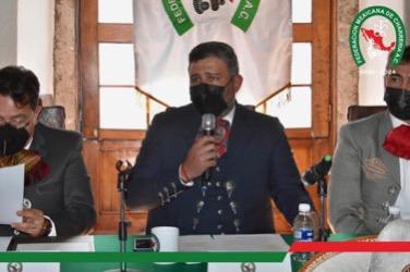José Antonio Salcedo encabezó su primera Junta Ordinaria Mensual como presidente de la Federación