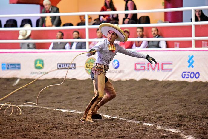 Las cuatro manganas de Rodrigo Osorio no fueron suficientes para clasificar a la final de charros completos