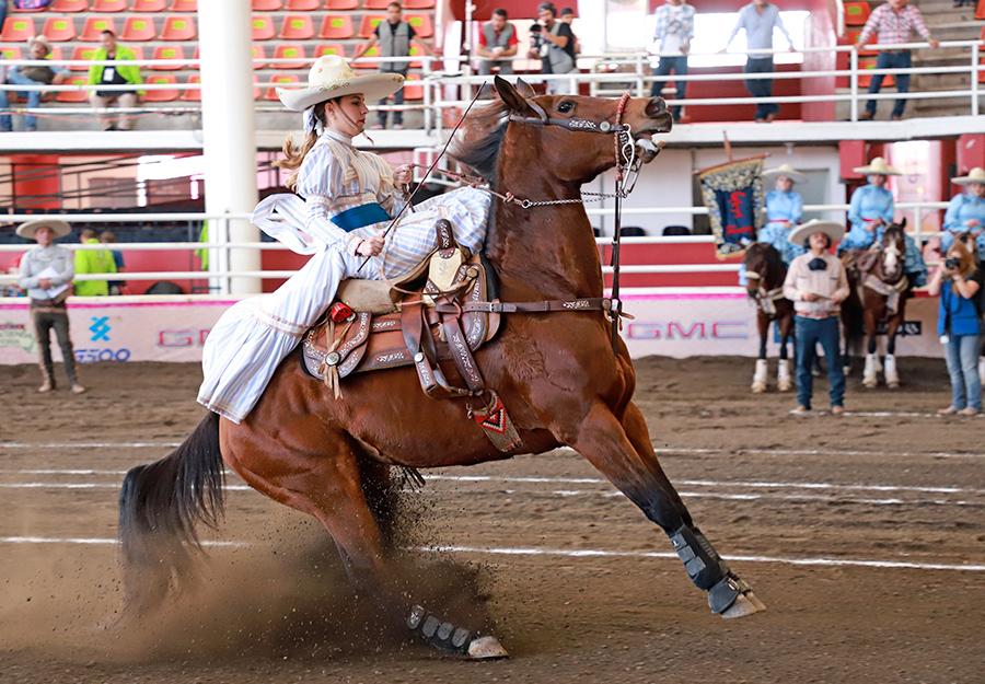 """Alteñitas de Guadalajara """"A"""" se ubican en quinta posición con 312.66 puntos"""