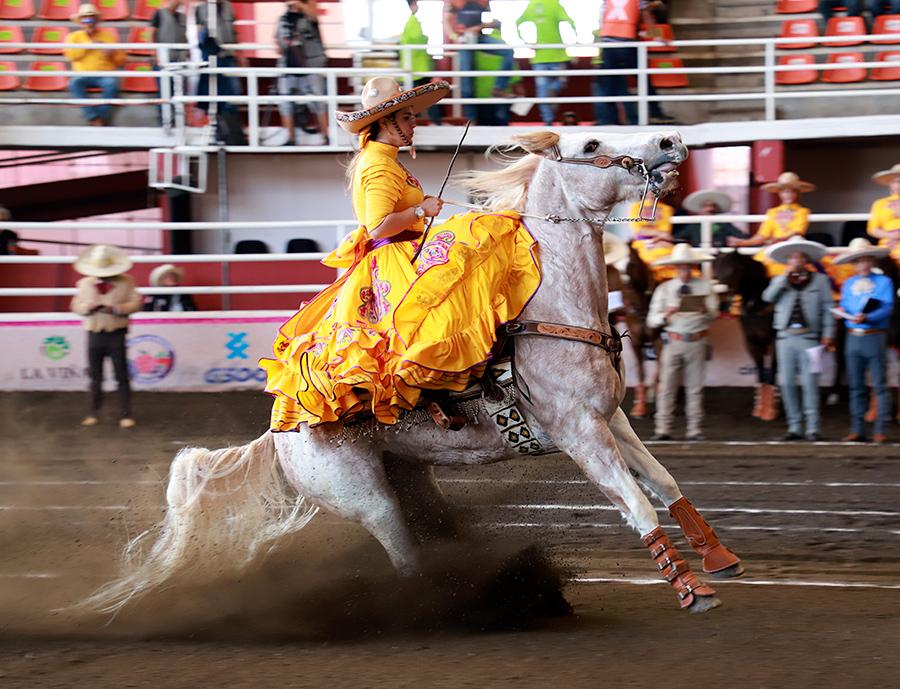 Las Amazonas del Humaya fueron las mejores de la primera competencia sabatina en Morelia