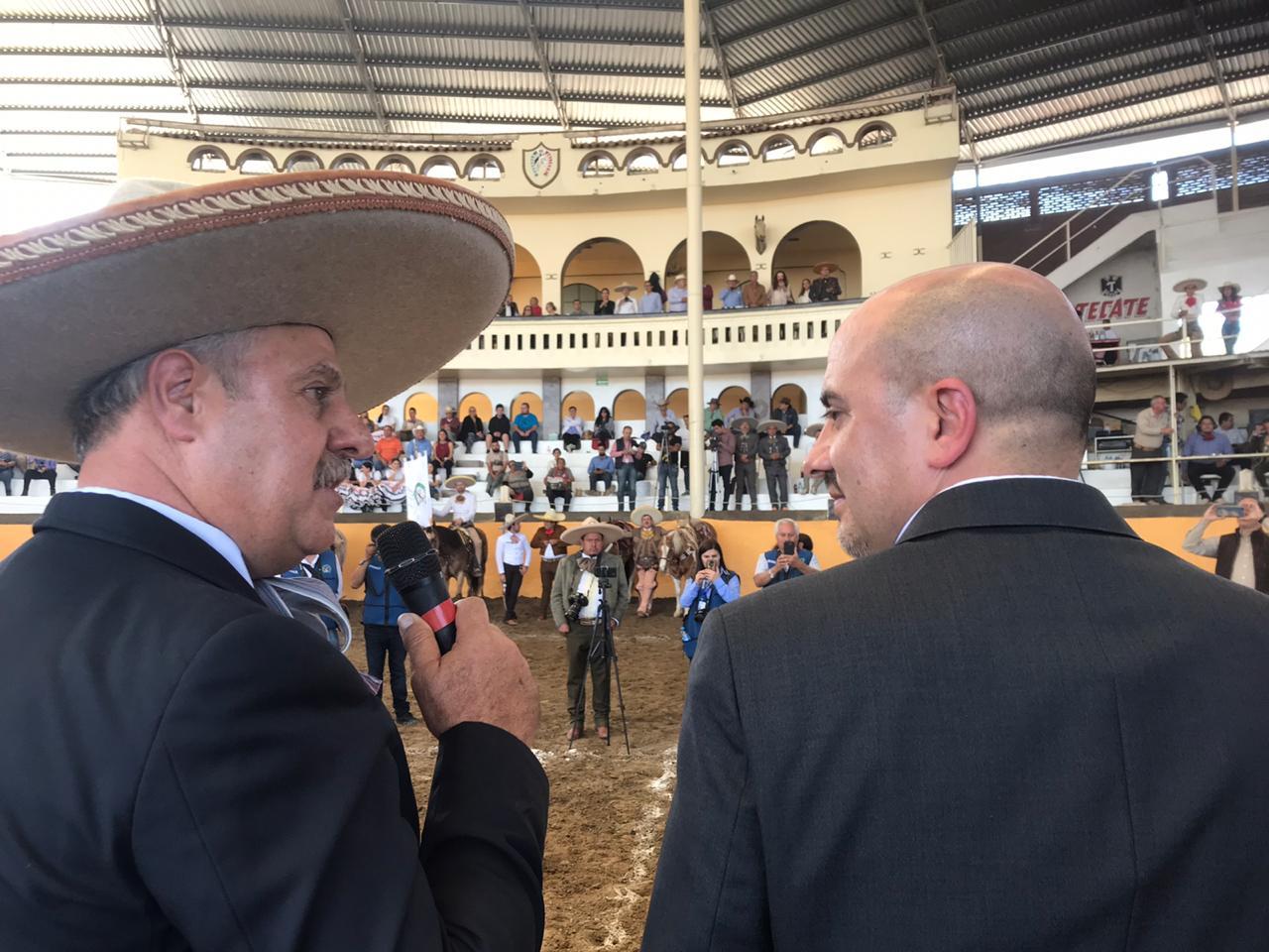 El ingeniero Leonardo Dávila agradeció el compromiso del presidente municipal tapatío en favor del deporte nacional
