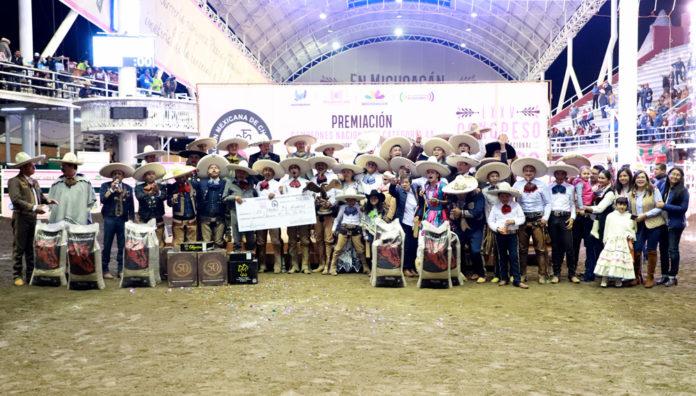 Premiación al campeón, El Trébol 3G de Hidalgo