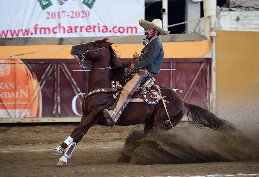 La cala de caballo de Lorenzo Ríos Esquivias fue magnífica, anotando 45 puntos para el campeón nacional Rancho Las Cuatas