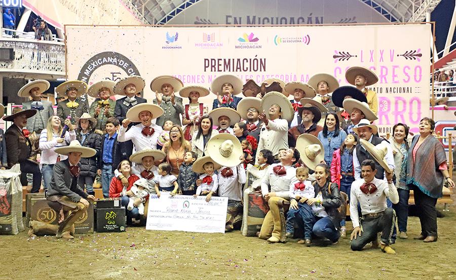 Premiación al subcampeón, Rancho Nuevo de Tepatitlán