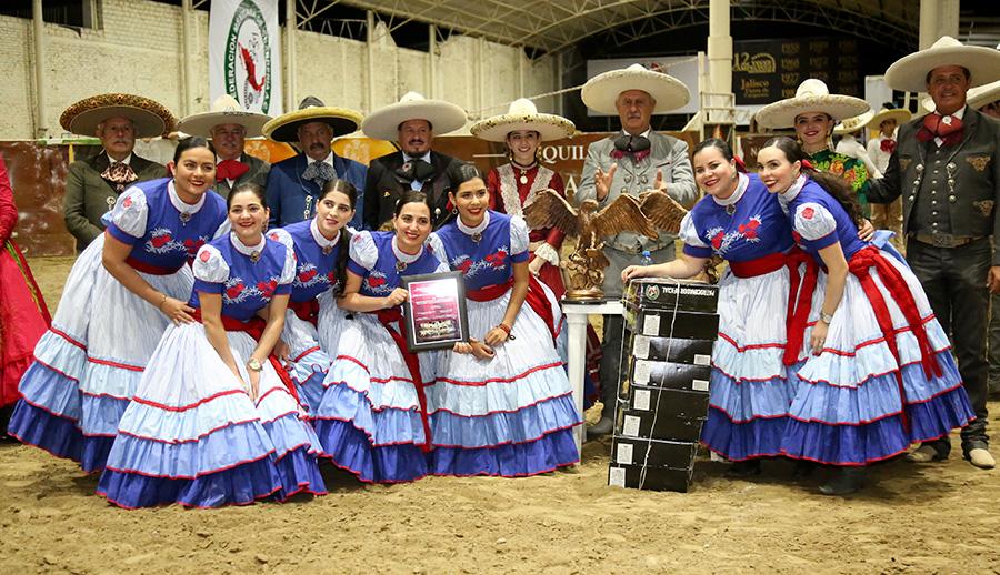 Premiación a El Porvenir de Jalisco, tercer lugar de la rama femenil