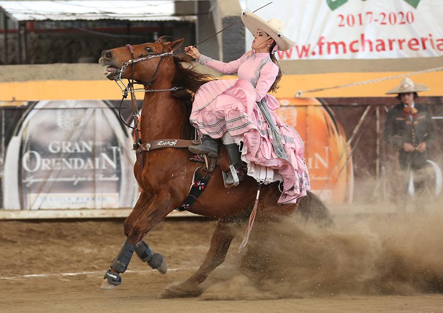 Alisma Muñoz de Lira presentó una muy buena punta para Sanmarqueña de Aguascalientes