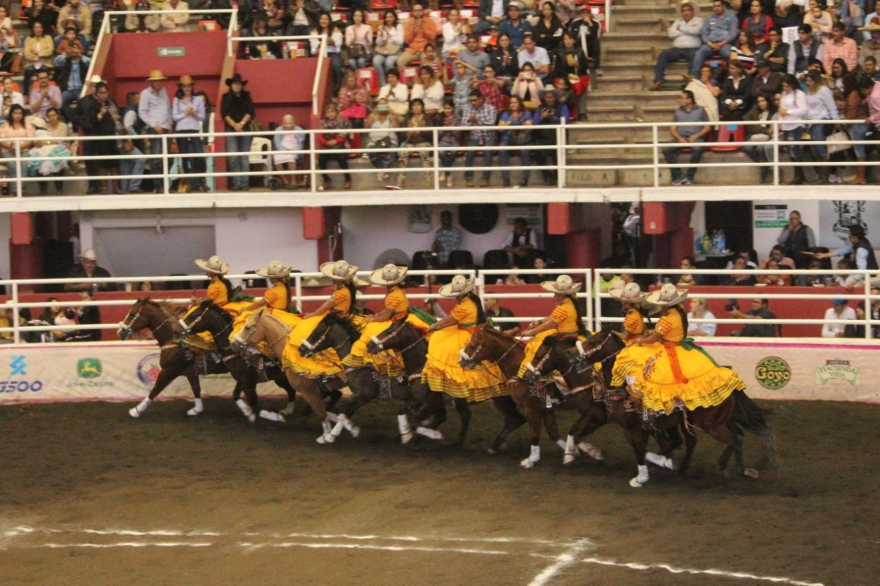 La subcampeona nacional, Mexiquense, se instaló en cuarto sitio de las escaramuzas