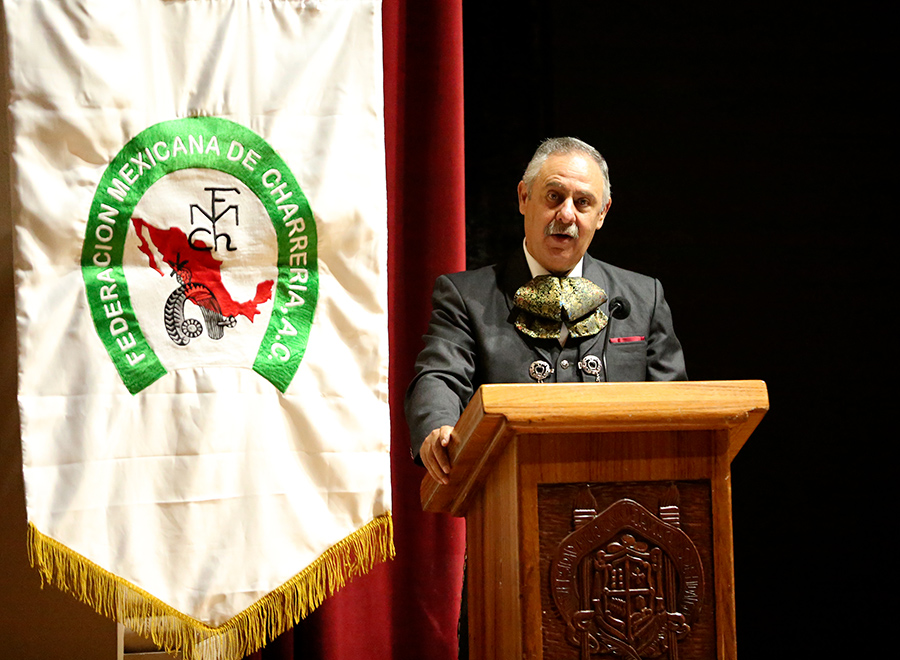 El presidente de la Federación, ingeniero Leonardo Dávila Salinas, presidió la Asamblea General Ordinaria