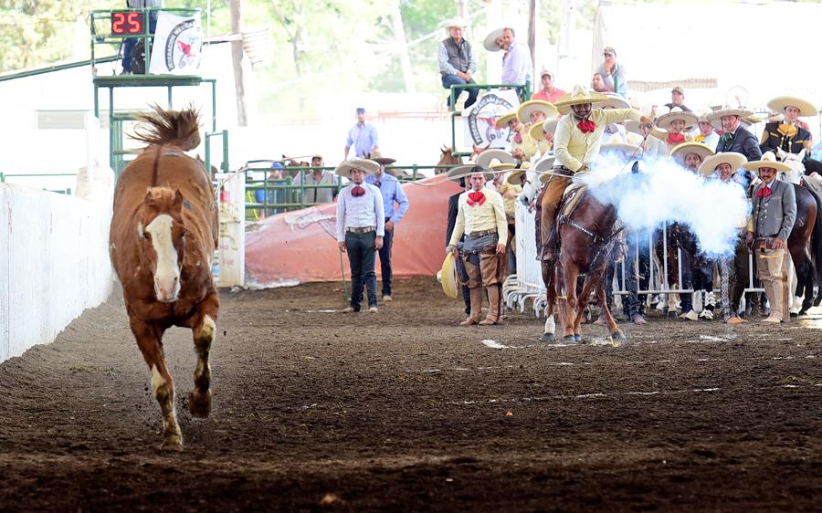 Arturo Soltero cooperó con un pial de 18 puntos para Rancho El Quevedeño de Nayarit