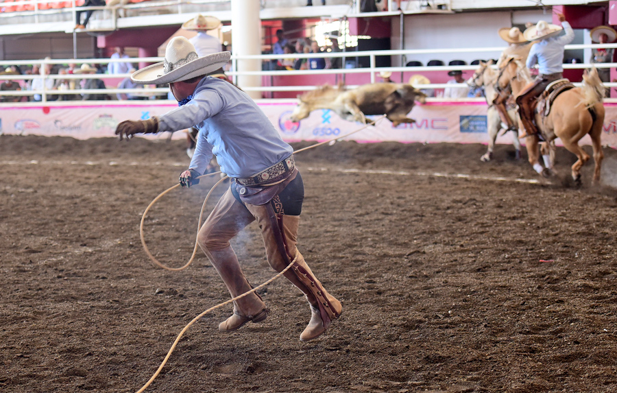 José Antonio Valenzuela logró derribar sus tres manganas a pie para sumar 75 puntos por Rancho El Gallito-Xico