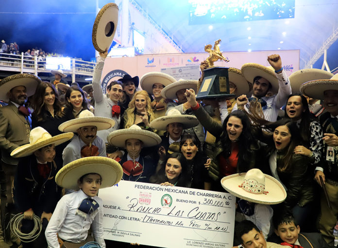 Rancho Las Cuatas, campeones nacionales de la categoría