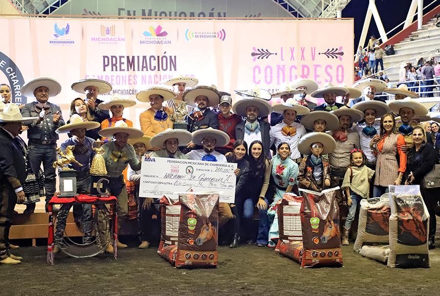 """Premiación a Hacienda de Guadalupe """"A"""", subcampeones nacionales"""