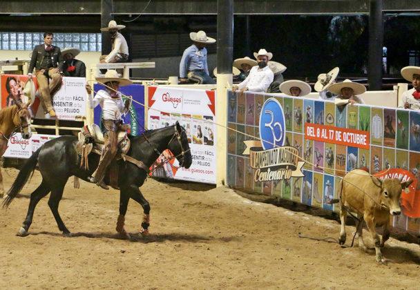 Rancho El Alazán de Sinaloa ganó el compromiso nocturno con 135 puntos