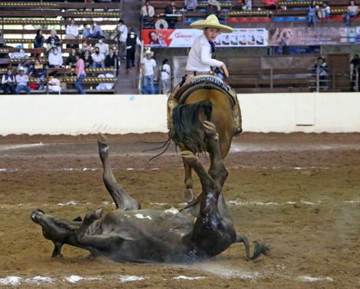 Luis Alfonso Franco Jiménez abanicando a su toro en su segunda oportunidad de colas