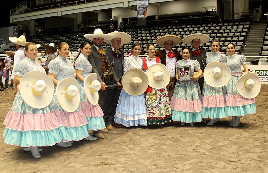 La escaramuza Selección Jalisco buscará su tercer título nacional consecutivo de la especialidad