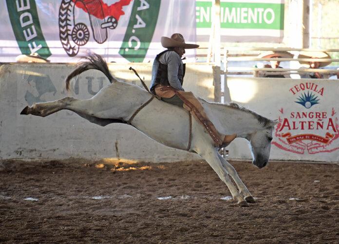 Rodolfo Mendoza Arellano jineteó muy buena yegua para Rancho La Providencia