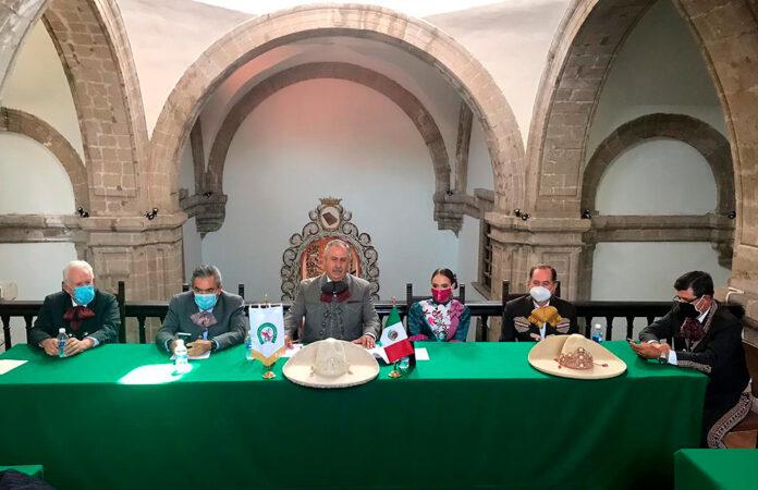 El presidente de la Federación, Leonardo Dávila Salinas, encabezó la Junta Ordinaria Mensual correspondiente a Octubre desde el Palacio de la Charrería