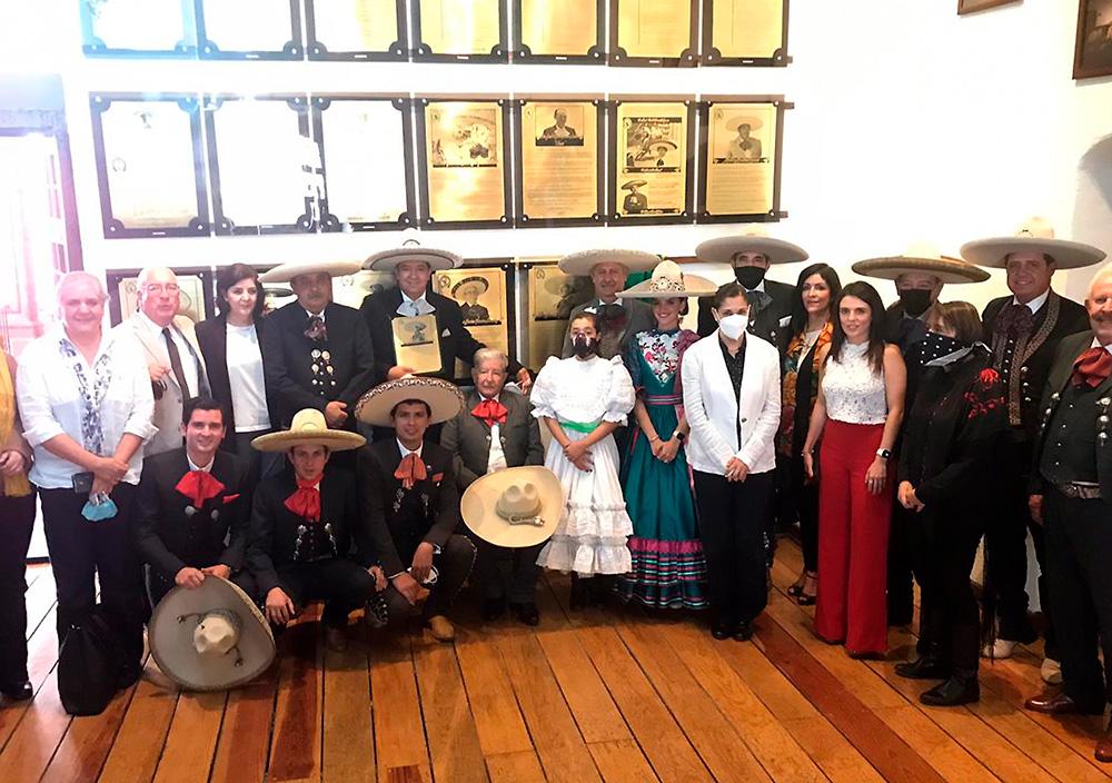 El homenajeado, Don Jesús Muñoz Ledo Cabrera, asistió acompañado de la mayoría de sus hijos y nietos