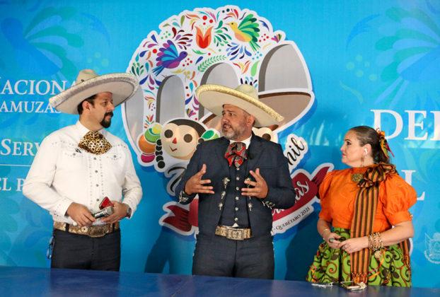 Intervención del presidente José Antonio Salcedo López, en vivo desde el set de transmisión montado en el segundo piso de la mirandilla de Rancho El Pitayo