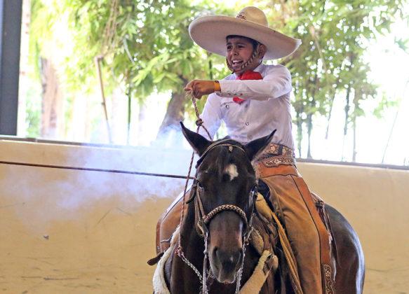 Maximiliano Alvarado Nava acertó dos piales en el lienzo para su escuadra, Fiesta Grande de San Luis Potosí