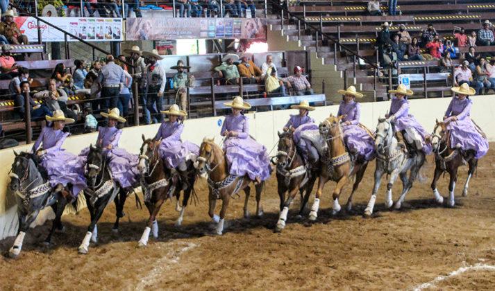 La escaramuza Rancho El Pitayo es nueva líder de la categoría Juvenil con 323.00 unidades