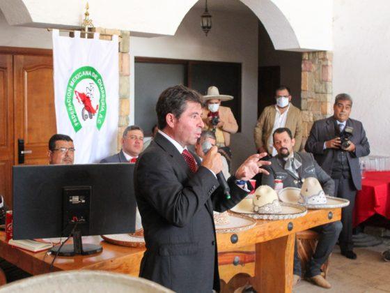 Jorge López Martín, Secretario de Turismo de Aguascalientes, destacó que la entidad se encuentra lista para recibir a la familia charra del 5 al 21 de noviembre