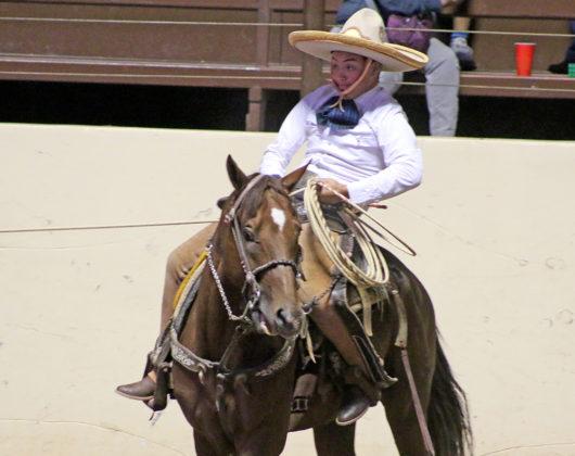 Rodrigo Quintero González cooperó con dos manganas a caballo por la Selección del Estado de México