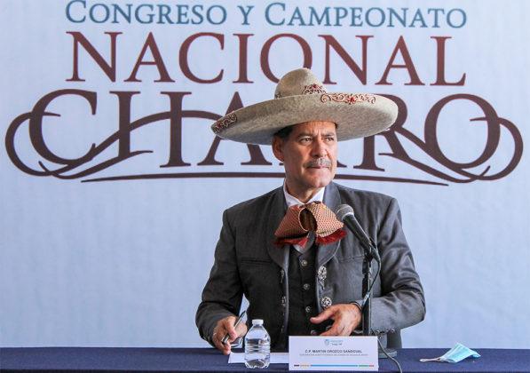 El Gobernador Martín Orozco Sandoval, reafirmó el compromiso para celebrar el Campeonato Nacional Charro del 5 al 21 de noviembre en Aguascalientes