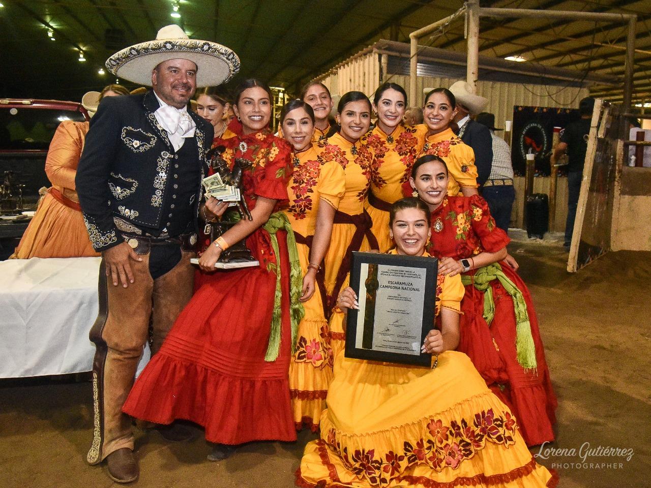 Premiación a las campeonas nacionales Descendencia Charra