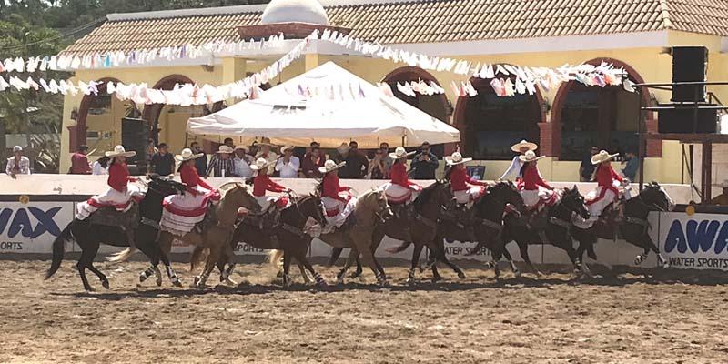 La actuación de la escaramuza Nazarenas engalanando el Campeonato Estatal de Sinaloa 2020