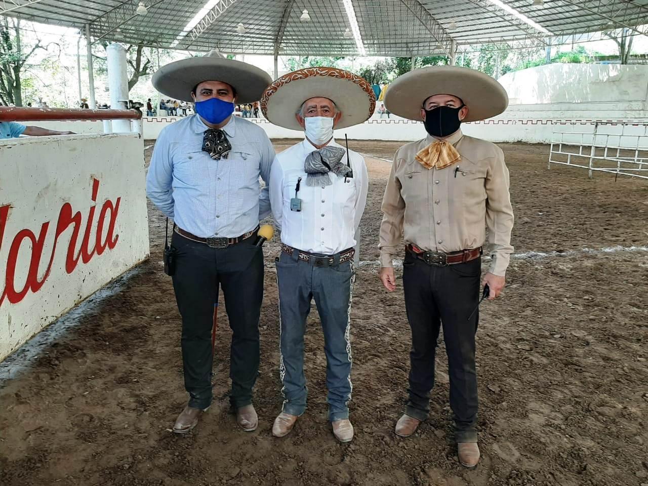 Jueces que calificaron la etapa uno, del campeonato estatal Jalisco 2020, zona sur