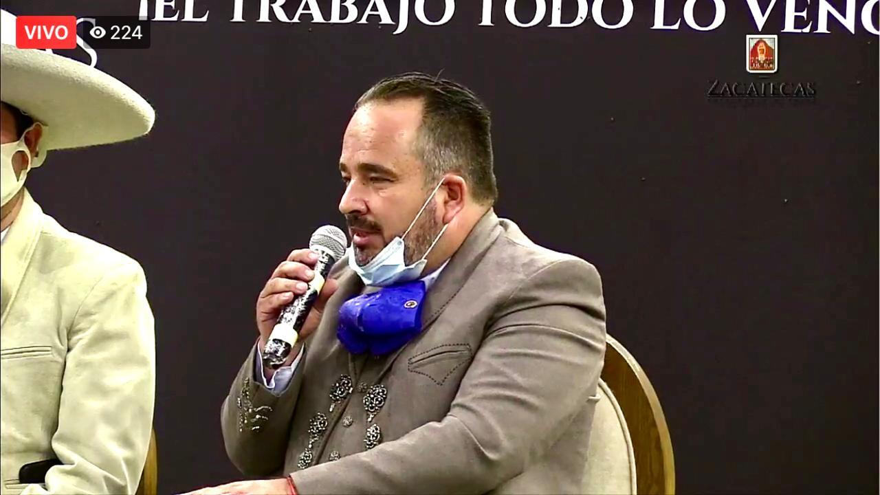 El PUA de Zacatecas, Carlos Mier Álvarez agradeció el apoyo del gobierno municipal y estatal