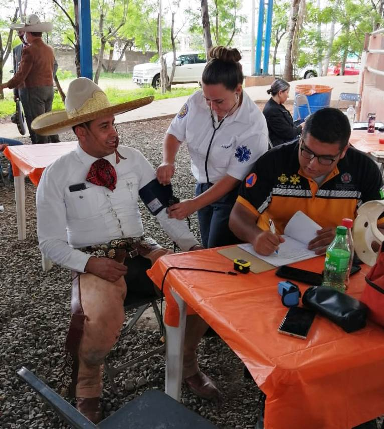 En el campeonato estatal de Jalisco se han cumplido con todos los protocolos de sanidad y con los exámenes médicos previos a las competencias