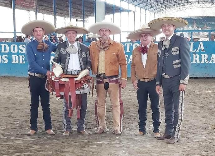 La UACHEJ premió a los equipos y a los mejores charros de cada faena al terminar la eliminatoria de Los Altos