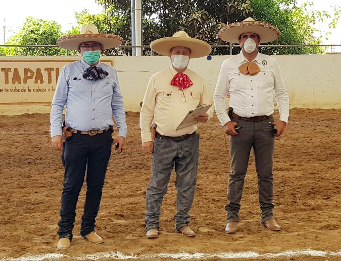 Los jueces que calificaron en el Norte del estado de Jalisco: Adolfo López, Miguel Domínguez y Horencio Lamas
