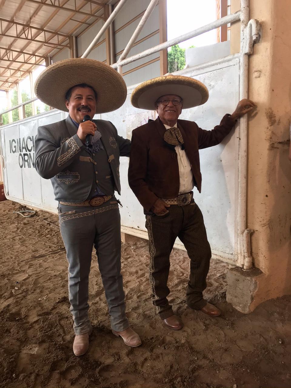 José Alfredo Meléndez y Macario Cornejo, locutores del estado de Guanajuato