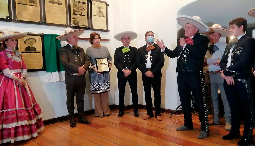 Francisco Javier García Kuri agradeció al Consejo Directivo Nacional la inclusión de Don Javier García Sánchez en tan ilustre instancia