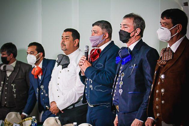 Encabezó la junta el presidente de la Federación, José Antonio Salcedo López, en compañía de sus consejeros