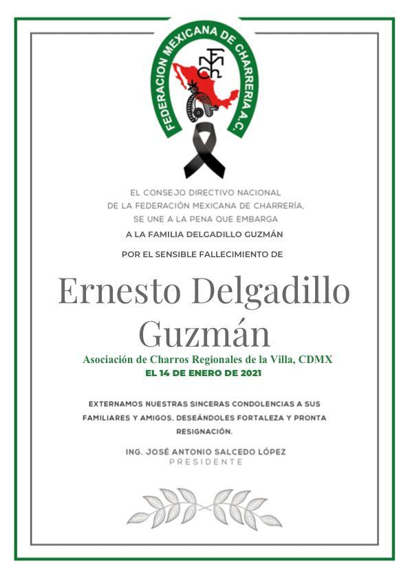 ✞ Ernesto Delgadillo Guzmán