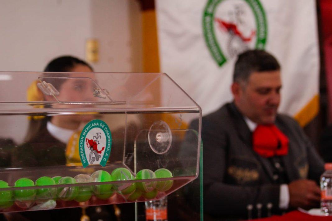 Sorteo del Campeonato Nacional Categoría Mayores