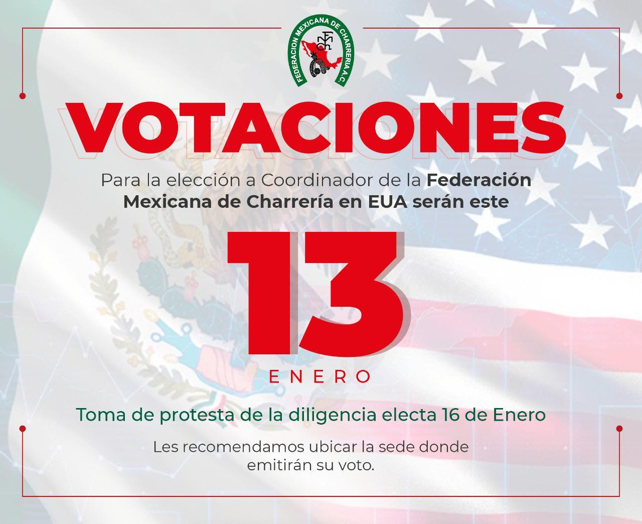 Votaciones Coordinador USA FMCH